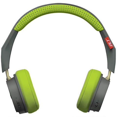 Plantronics Backbeat 505 Grey Green Wireless On-Ear Headphone