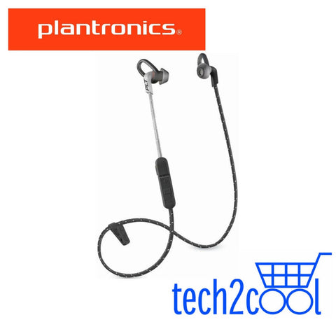 Plantronics Backbeat Fit 305 Black Grey Wireless Earbuds