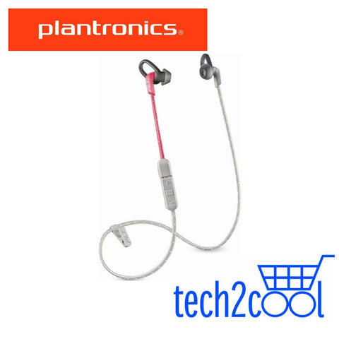 Plantronics Backbeat Fit 305 Grey Coral Wireless Earbuds