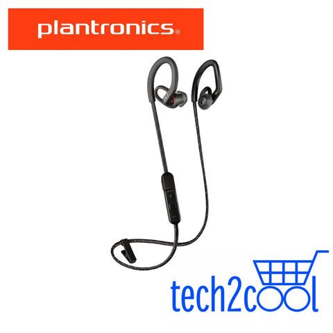 Plantronics Backbeat Fit 350 Black Wireless Sport Earbuds