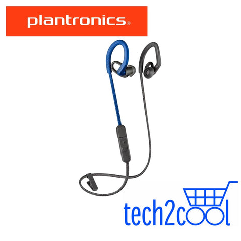 Plantronics Backbeat Fit 350 Blue Wireless Sport Earbuds