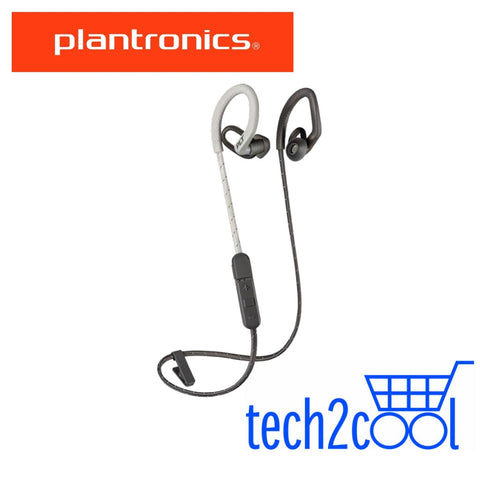 Plantronics Backbeat Fit 350 Grey Wireless Sport Earbuds