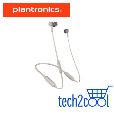 Plantronics Backbeat Go 410 Bone Wireless Active Noise-Canceling Earbuds
