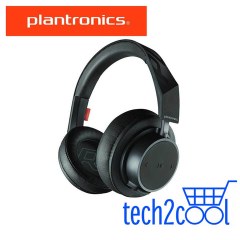 Plantronics Backbeat Go 605 Black Wireless Bluetooth Over-The-Ear Headphones