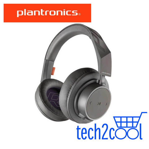 Plantronics Backbeat Go 605 Grey Wireless Bluetooth Over-The-Ear Headphones