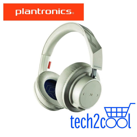 Plantronics Backbeat Go 605 Khaki Wireless Bluetooth Over-The-Ear Headphones