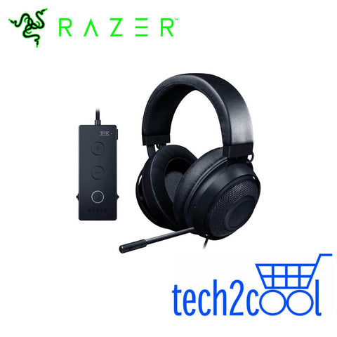 Razer Kraken Tournament Edition Black Surround Sound Wired Gaming Headset