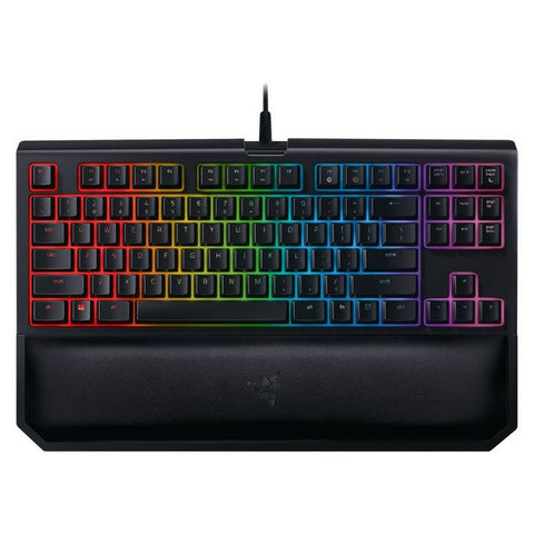 Razer BlackWidow Tournament Edition Chroma V2 Yellow Switch Mechanical Gaming Keyboard
