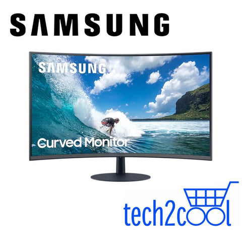 Samsung LC24T550FDEXXS 24-In Curved Full HD Monitor
