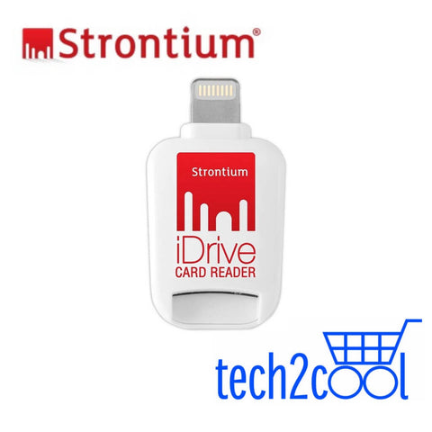 Strontium iDrive Card Reader with Lightning Connector