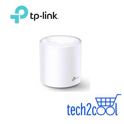 TP-Link Deco X60 AX3000 Dual Band Home Mesh WiFi 6 System 1-Pack