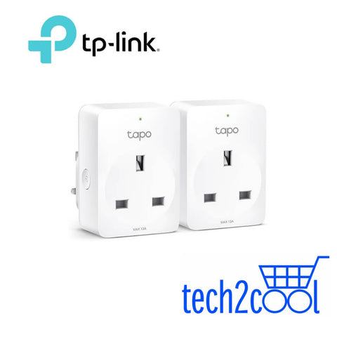 TP-Link Tapo P100 Mini Smart WiFi Plug 2-Pack