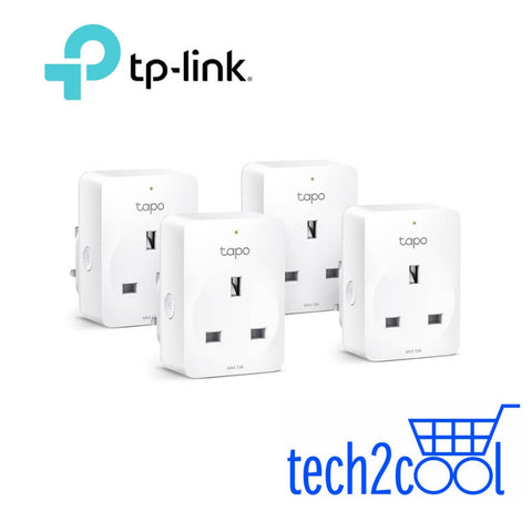 TP-Link Tapo P100 Mini Smart WiFi Plug 4-Pack