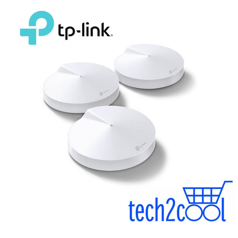 TP-Link Deco M9 Plus AC2200 Smart Home Mesh WiFi System 3-Pack