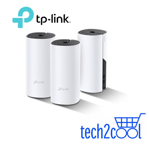 TP-Link Deco P9 AC1200 Plus AV1000 Dual Band Home Hybrid Mesh WiFi System 3-Pack