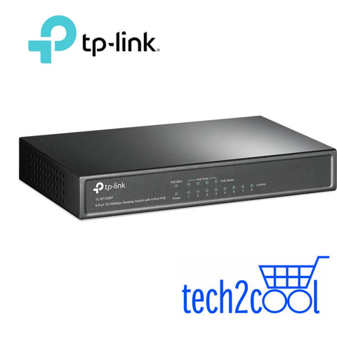 TP-Link TL-SF1008P 8-Port 10/100 Mbps Desktop Switch with 4-Port PoE