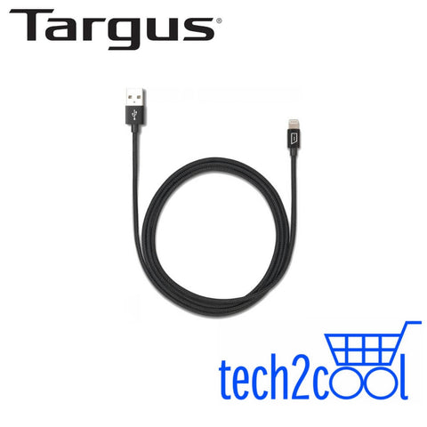 Targus ACC99410AP Black Aluminium Lightning to USB Cable
