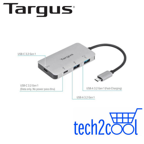 Targus ACH228AP USB-C Multi-Port Hub with 100 W Power Delivery