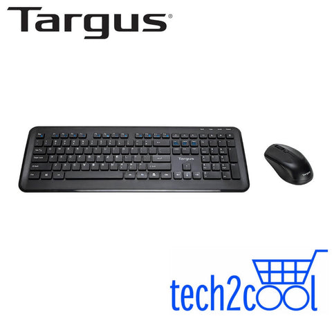 Targus AKM610AP Black Wireless Mouse and Keyboard Combo