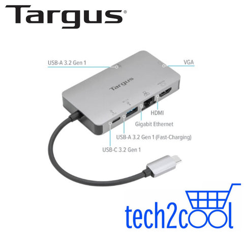 Targus DOCK419AP USB-C 4K HDMIVGA Docking Station with 100 W Power Delivery