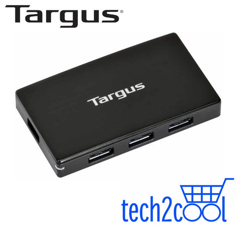 Targus ACH144AP USB 3.0 4-Port Hub with Detachable 60 cm Cable