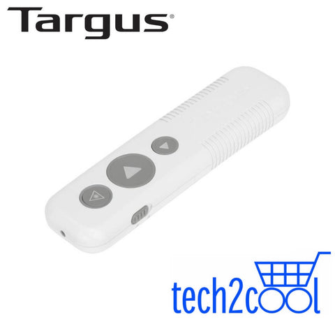 Targus AMP3001GL Wireless White USB Presenter with Laser Pointer