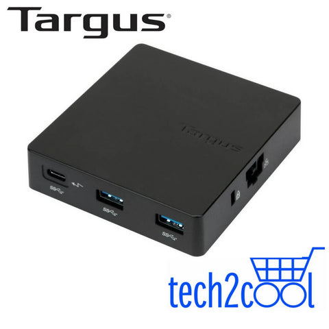 Targus DOCK412AP USB-C Travel Dock with Power Pass-Through