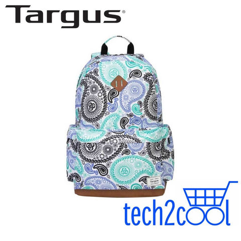 Targus TSB93602AP 15.6-In Strata Cashew Pattern Backpack