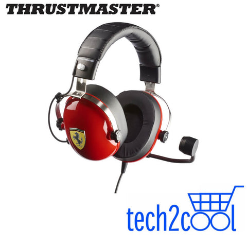 Thrustmaster 4060105 T.Racing Scuderia Ferrari Edition Gaming Headset