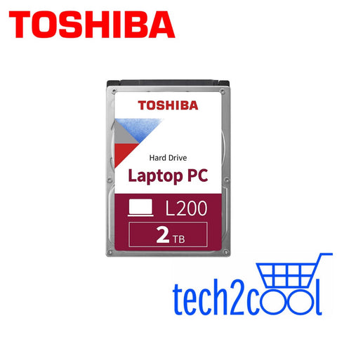 Toshiba L200 2 TB 2.5-In 5400 RPM SATA Laptop PC Hard Drive