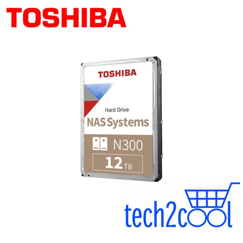 Toshiba N300 12 TB 3.5-In 7200 RPM NAS Hard Drive