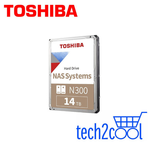 Toshiba N300 14 TB 3.5-In 7200 RPM NAS Hard Drive