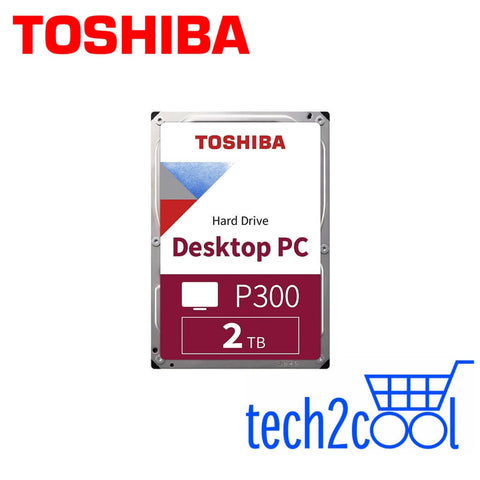 Toshiba P300 2 TB 3.5-In 5400 RPM Desktop PC Hard Drive
