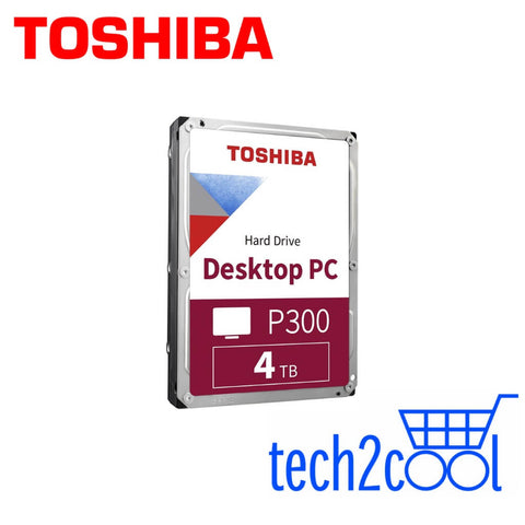 Toshiba P300 4 TB 3.5-In 5400 RPM Desktop PC Hard Drive