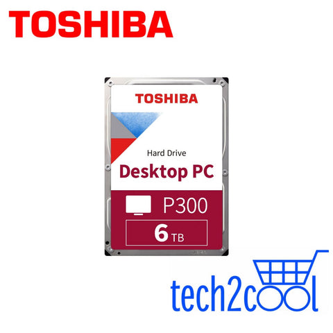 Toshiba P300 6 TB 3.5-In 5400 RPM SATA Desktop PC Hard Drive