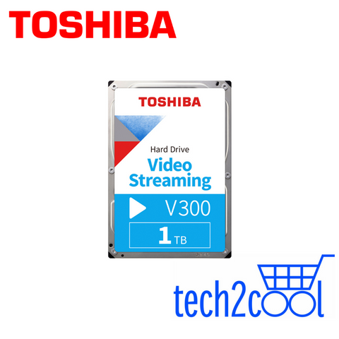 Toshiba V300 1 TB 3.5-In 5700 RPM Video Streaming SATA Hard Drive