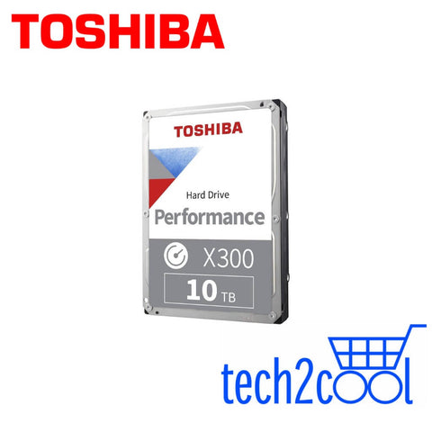 Toshiba X300 10 TB 3.5-In 7200 RPM Performance and Gaming SATA Hard Drive