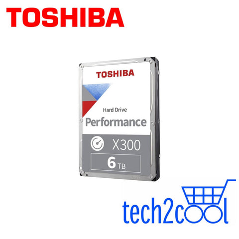 Toshiba X300 6 TB 3.5-In 7200 RPM Performance and Gaming SATA Hard Drive
