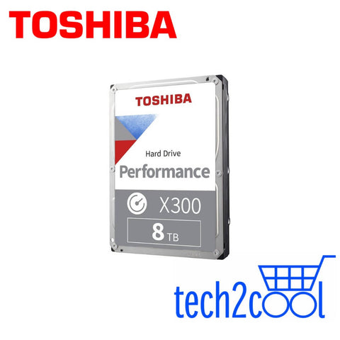 Toshiba X300 8 TB 3.5-In 7200 RPM Performance and Gaming SATA Hard Drive