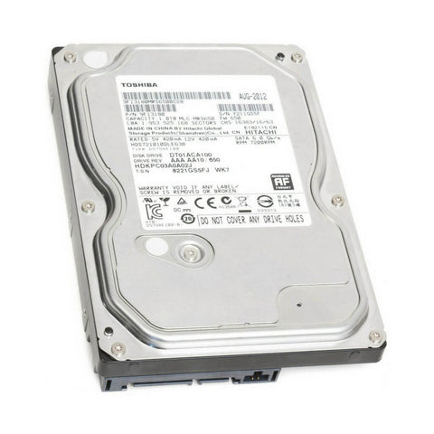 Toshiba 1TB  3.5-In 7200 RPM Hard Disk Drive