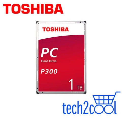 Toshiba P300 1TB 3.5-In 7200 RPM SATA Desktop PC Hard Drive