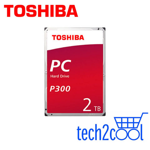 Toshiba P300 2TB 3.5-In 7200 RPM SATA Desktop PC Hard Drive