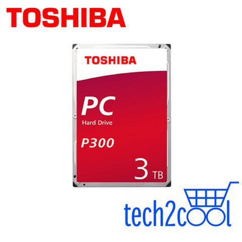 Toshiba P300 3TB 3.5-In 7200 RPM SATA Desktop PC Hard Drive