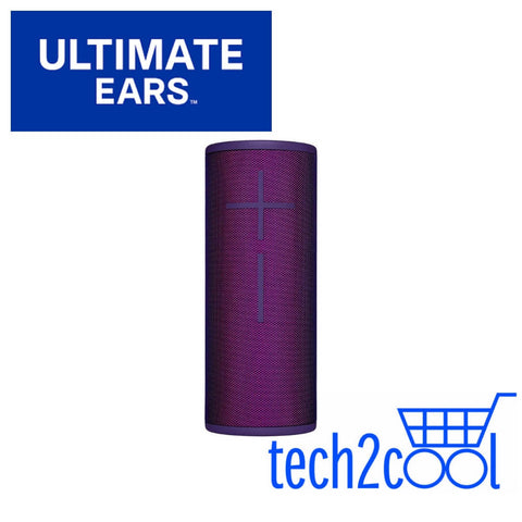 Ultimate Ears Boom 3 Ultraviolet Purple Portable Bluetooth Wireless Speaker
