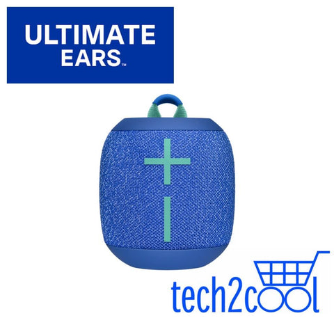 Ultimate Ears Wonderboom 2 Bermuda Blue Portable Mini Bluetooth Wireless Speaker
