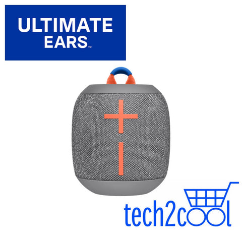 Ultimate Ears Wonderboom 2 Crushed Ice Grey Portable Mini Bluetooth Wireless Speaker