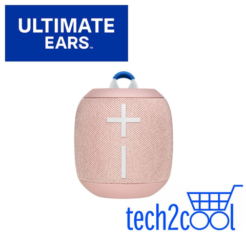 Ultimate Ears Wonderboom 2 Just Peach Portable Mini Bluetooth Wireless Speaker