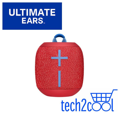 Ultimate Ears Wonderboom 2 Radical Red Portable Mini Bluetooth Wireless Speaker