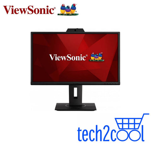 ViewSonic VG2440V 24-In Full HD IPS Video Conferencing Monitor with Webcam and Microphone