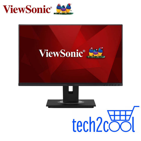 ViewSonic VG2456 24-In Docking Full HD Monitor with USB Type-C and Ethernet
